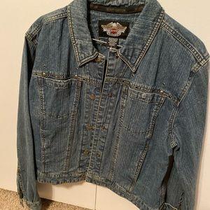 Denim Harley Davidson jacket
